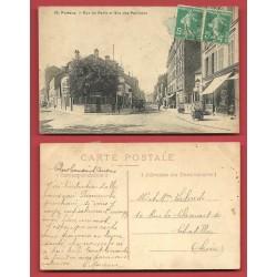 PUTEAUX - Rue de Paris et Rue des Pavillons