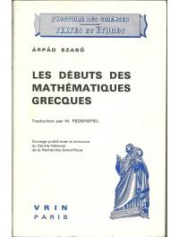 Les débuts des Mathématiques Grecques