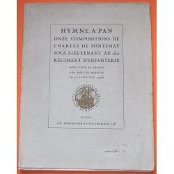 Hymne à Pan - Compositions