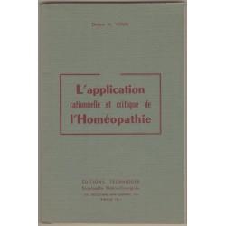 L'application de l'Homéopathie