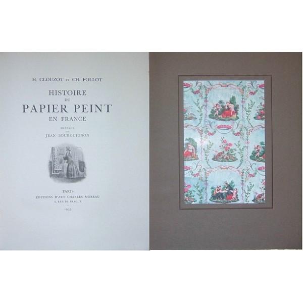 Histoire Du Papier Peint En France A Chacun Son Livre