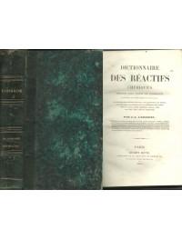Dictionnaire des réactifs chimiques