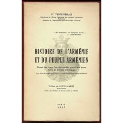 Histoire de l'Arménie et du Peuple Arménien