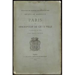Paris ou Description de cette Ville