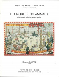 Le cirque et les animaux - Affiches