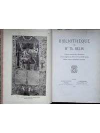 Bibliothèque de Mme Th. Belin