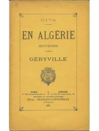 En Algérie, souvenirs - Géryville