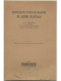 Plantain - Différents types de Graines du genre Plantago