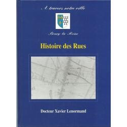 Bourg La Reine, Histoire des Rues